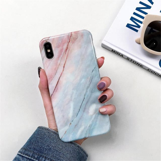 Macaroon Marble - For iphone 6 6S / F7
