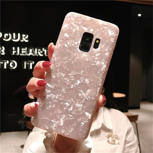 Soft Shell Pattern Case Pink - Note 9 / Pink
