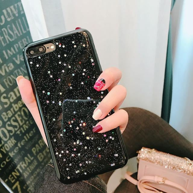 Stars Black - Stars Black / For iPhone 6 6s