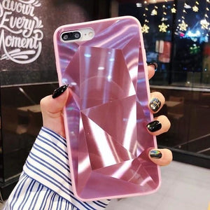 Three Dimension Crystal Pink - For S8 Plus / pink
