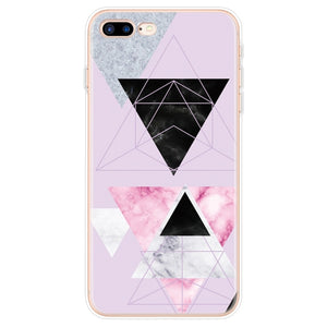 Triangle Marble - Triangle Marble / For iPhone 4 4S