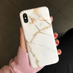 White Gold Marble - White Crack / 6Plus 6sPlus