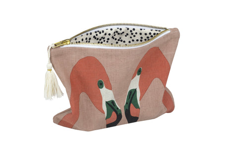 PALM Clutch - Pink Flamingo