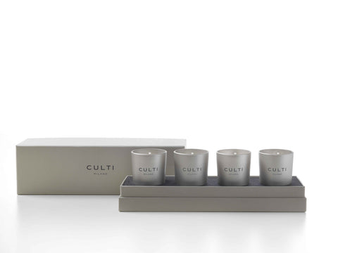 CULTI 65 G Mini Candle Set of 4