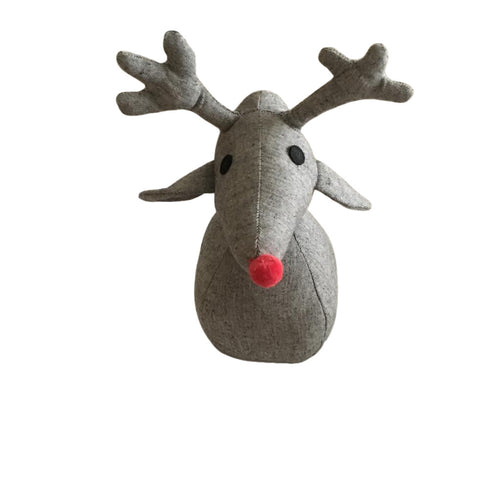 HOLIDOSE: HOLIDAY Door Stop - Rudolph