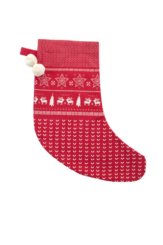 HOLIDAY Stocking - Jumper Red