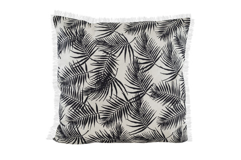 PALM Over-Sized Pillow (Natural/Raven)