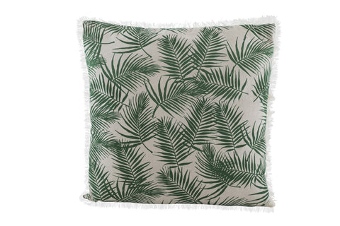 PALM Over-Sized Pillow (Natural/Amazon Green)