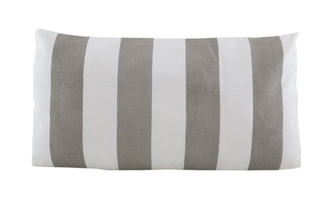 PALM Bold Stripe Pillow (Goat/Natural)