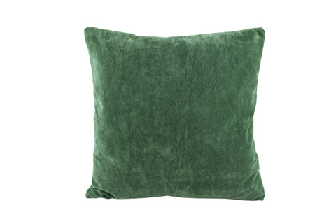 PALM Velvet Pillow (Green)