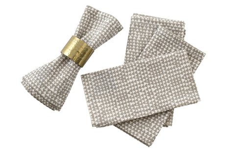 CORE Napkin - Cairo (Taupe) Set of 4