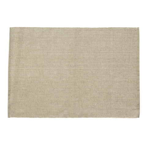 CORE Placemat - Chambray With Lurex (Taupe)