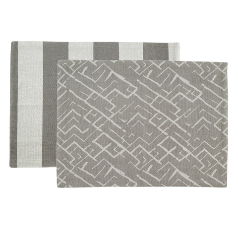 PALM Placemat - Tribal (Goat/Natural) Set of 4
