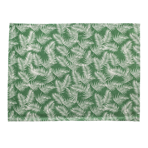 PALM Plastic Placemat (Amazon Green/Natural)