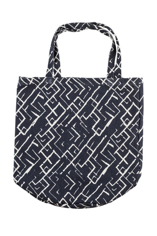 PALM Tote Bag - Tribal (Raven/Natural)