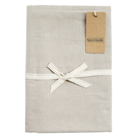 CORE Tablecloth - Chambray (Taupe)