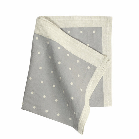 SWAN LAKE Napkin Pack (Set of 4) - Polka Dot (Cygnet Grey)