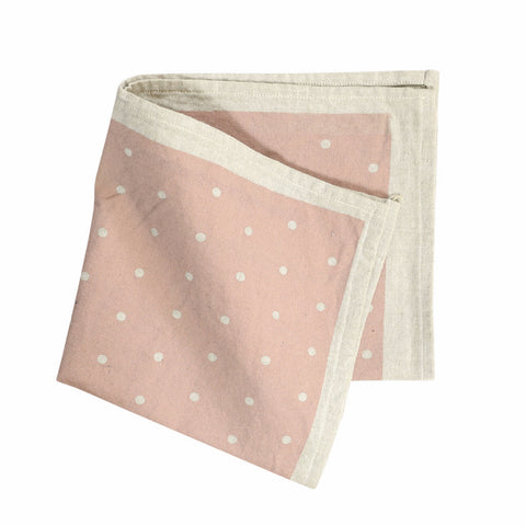 SWAN LAKE Napkin Pack (Set of 4) - Polka Dot (Mushroom Pink)