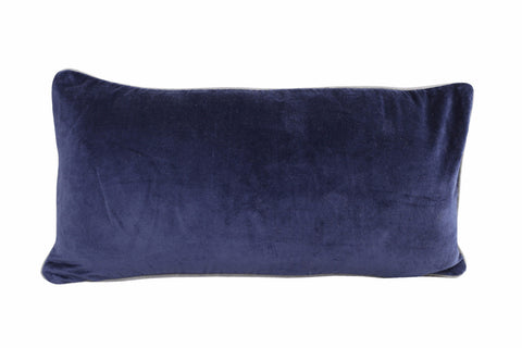 SWAN LAKE Pillow - Velvet (Denim)