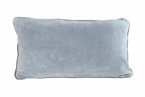 SWAN LAKE Pillow - Velvet (Powder Blue)