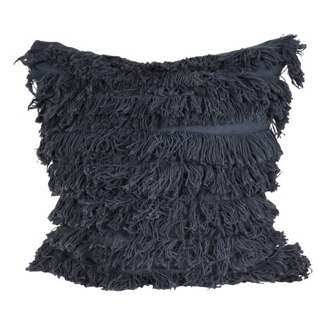 SWAN LAKE Pillow - Fringe (Black Swan)