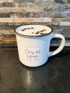 Large Mug Coffee Scented Soy Candle