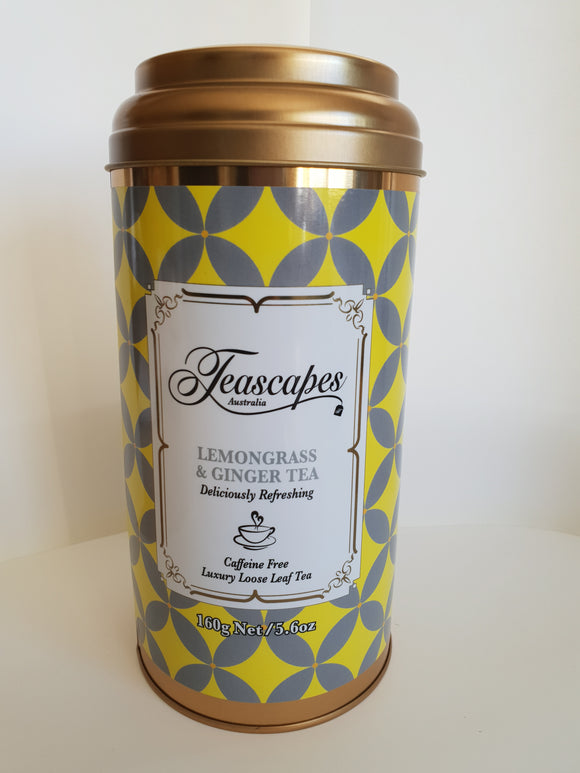 Lemongrass & Ginger Organic Tea 160g Tin