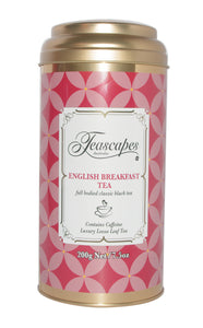 English Breakfast Organic Tea 200g Tin
