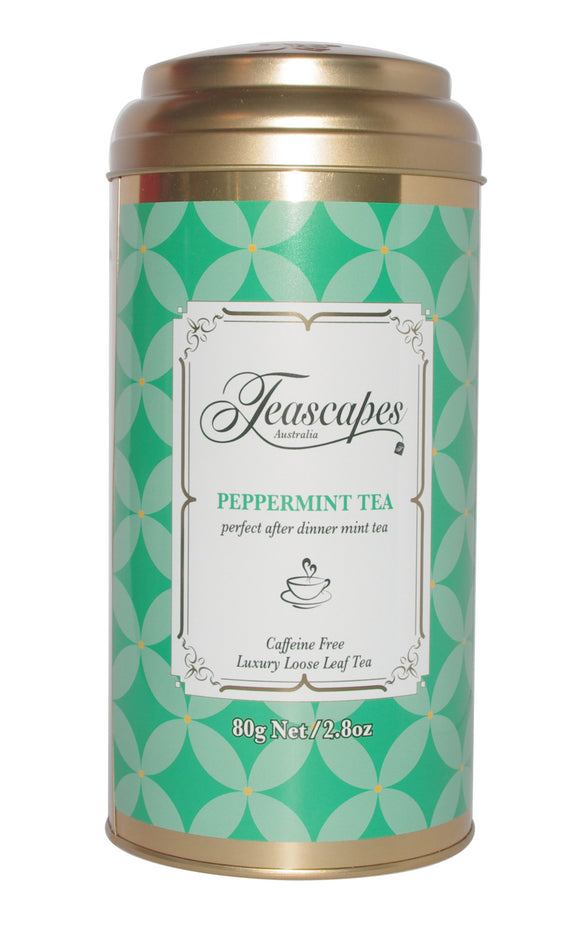 Peppermint Tea 80g Tin