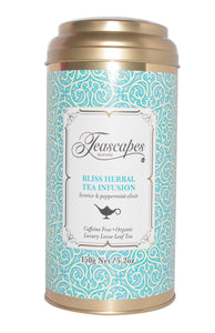 Bliss Herbal Tea Infusion, Licorice  & Peppermint 150g Tin
