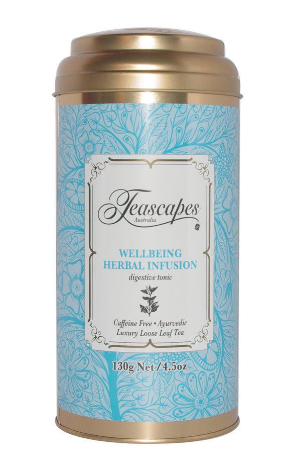 Wellbeing Herbal Infusion 130g Tin