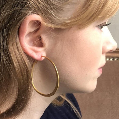 Nina Hoop Earrings