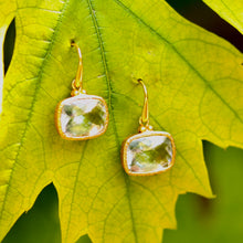 Load image into Gallery viewer, Green Goddess Earrings