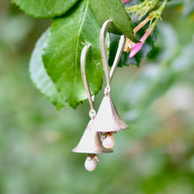 Load image into Gallery viewer, Silver Bells Earrings