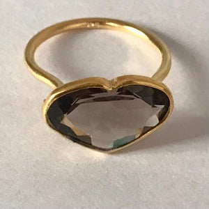 Bisoux Ring in gold vermeil