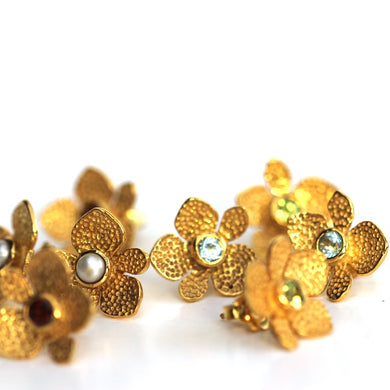 Blossom Earring in gold