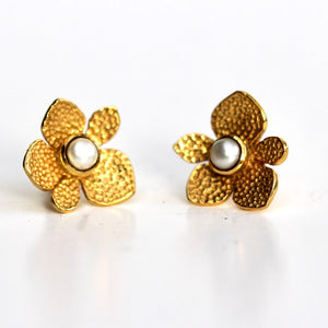 Blossom Earrings in Gold