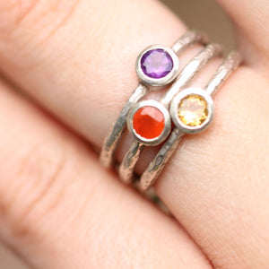 Silver Stacking Ring
