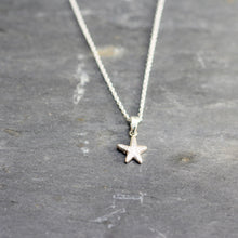 Load image into Gallery viewer, Little Star necklace in sterling silver