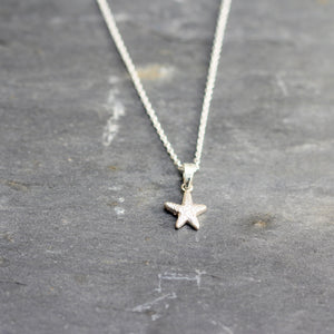 Little Star necklace in sterling silver