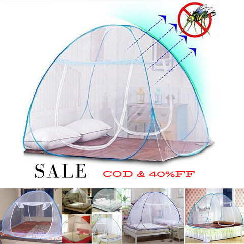 Foldable Anti-Mosquito Net Tent