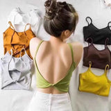 STYLISH BACK CROP TOP BRALLET (BUY 1 GET 3)