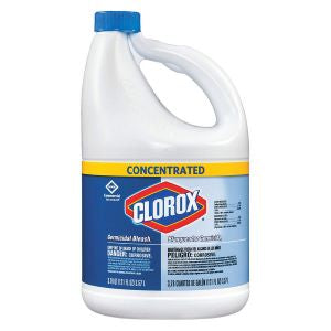CLOROX BLEACH LIQUID COMMERCIAL SOLUTIONS GERMICIDAL CONCENTRATED (3.57L)