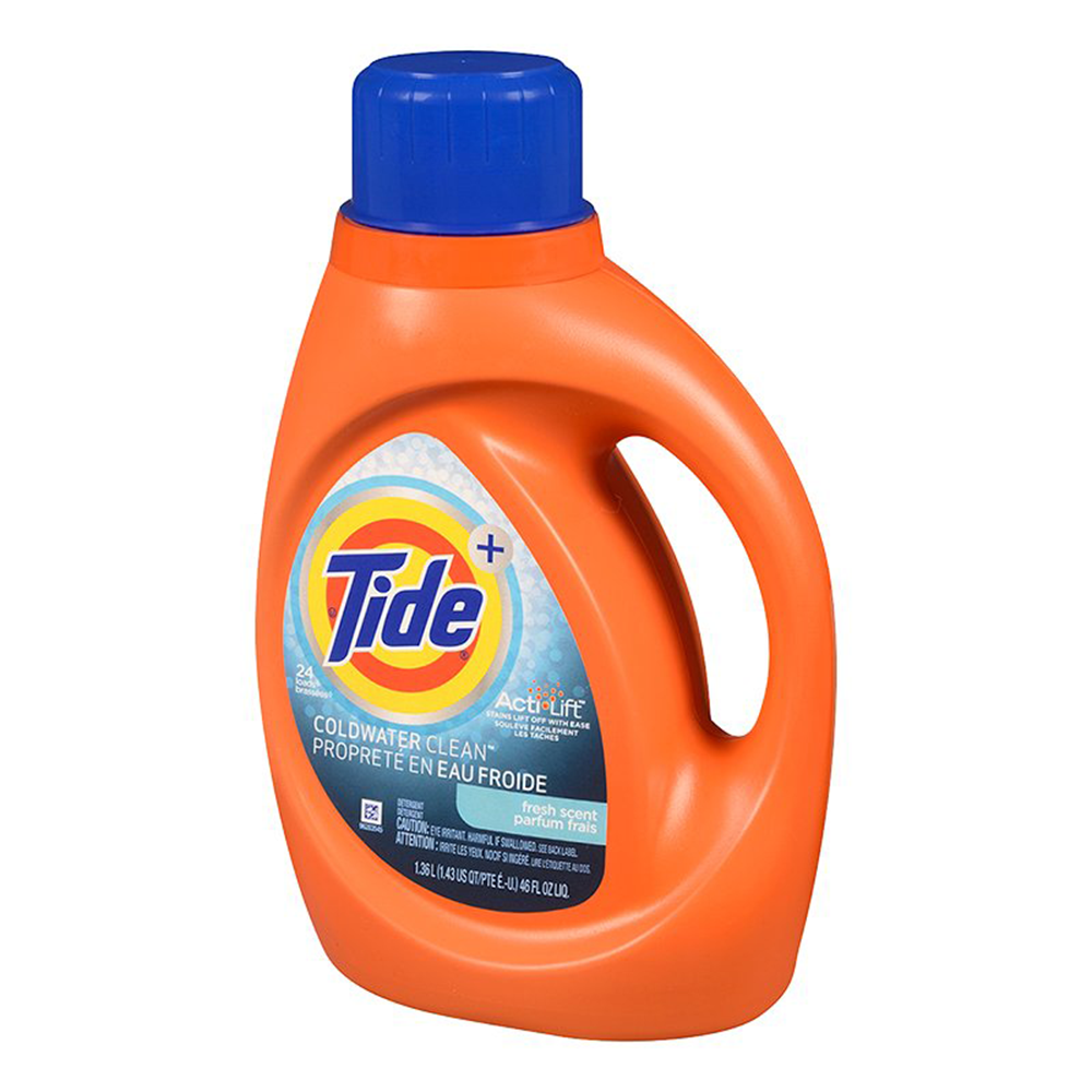 TIDE - LIQUID HE COLD WATER FRESH SCENT (19 LOADS)
