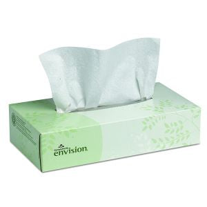 ENVISION 2-PLY FACIAL TISSUE (100 SHEETS PER PACKAGE)