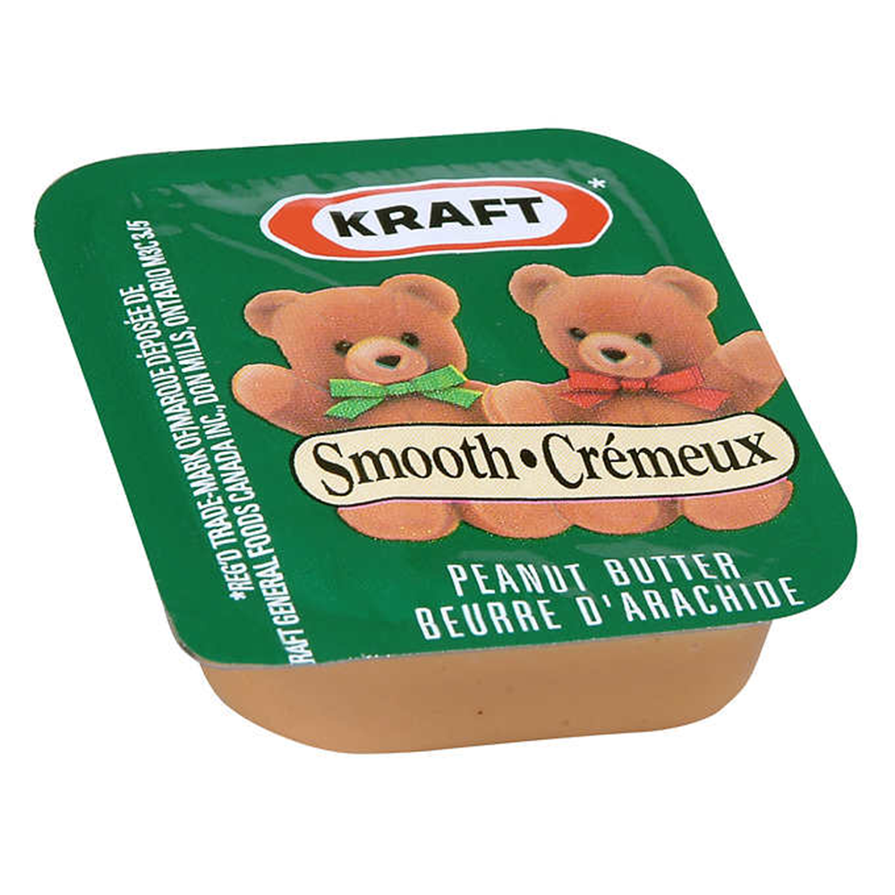 Peanut Butter Portions | 18 g | 108 Pack