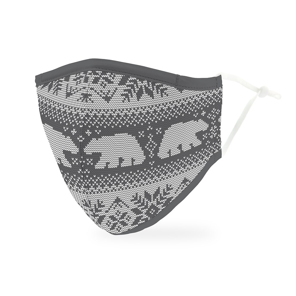 Adult Protective Cloth Face Mask | Polar Bears | Each