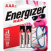 ENERGIZER MAX - BATTERY AAA2 (2/PK)