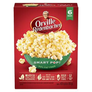 Orville Redenbacher Smart Pop Pop Up Bowl | 6 Pack