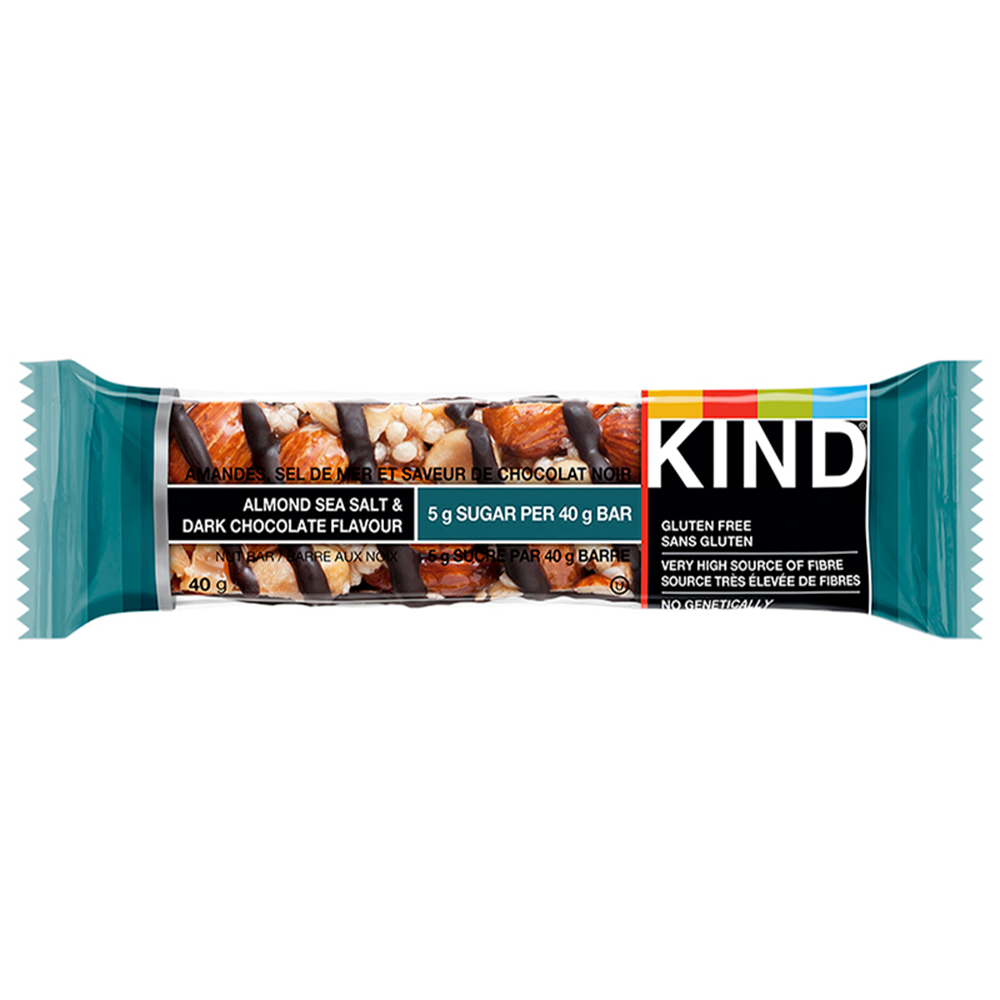 KIND DARK CHOCOLATE NUTS & SEA SALT